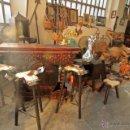 Vintage: ESPECTACULAR BARRA DE BAR, CON 3 TABURETES, MUEBLE BAR AUXILIAR Y TABURETE. MEJOR VER FOTOS. Lote 50081018