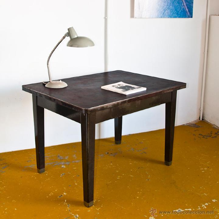 Mesa o escritorio hierro estilo industrial com comprar for Muebles estilo vintage online