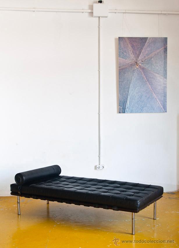 Daybed Mies Van Der Rohe Reproducción En Piel Comprar Muebles