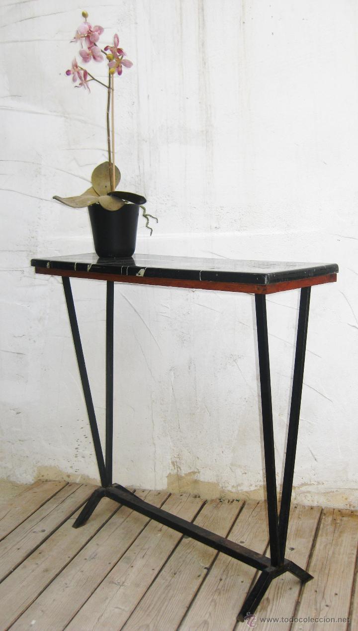 Muebles de hierro y madera obtenga ideas dise o de for Muebles de efecto industrial