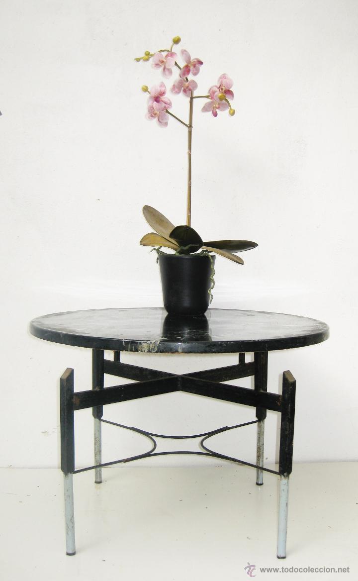 Preciosa Mesita Vintage Revistero Vintage En Hi Comprar Muebles  # Muebles Raros De Madera