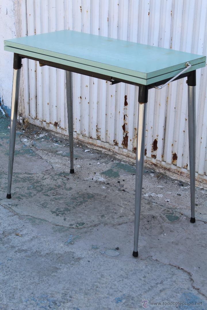 mesa de cocina vintage extensible - Kaufen Vintage-Möbel in ...