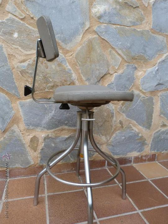 silla de delineante. vintage, industrial, ofici - Comprar Muebles ...