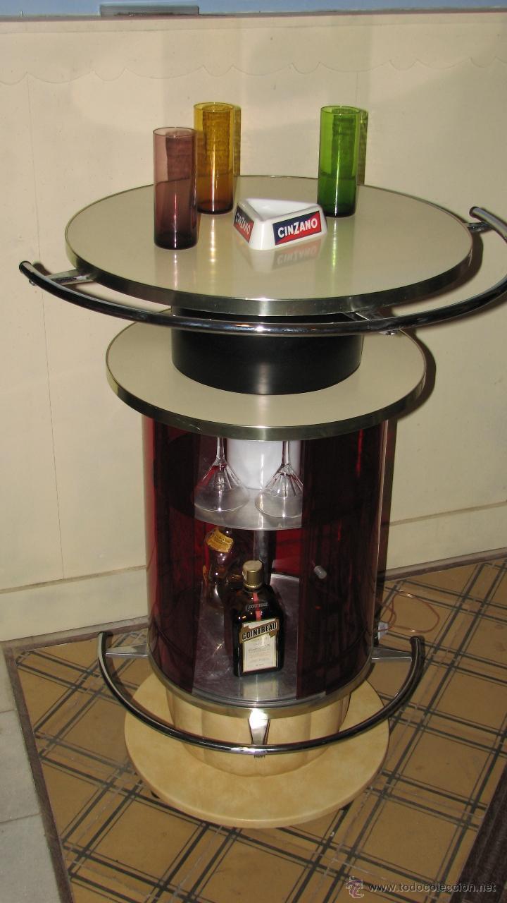 Mueble bar barra a os 70 comprar muebles vintage en todocoleccion 51129693 - Mueble barra bar ...