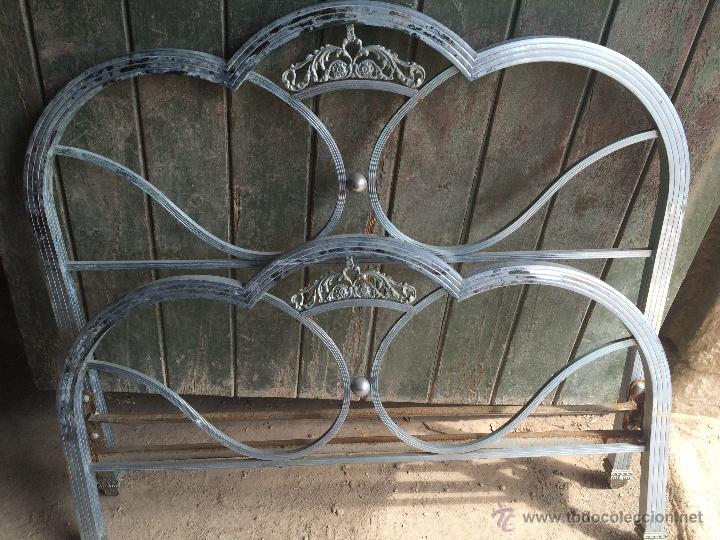 Antigua cama individual de hierro y metal de lo comprar - Camas antiguas de hierro ...