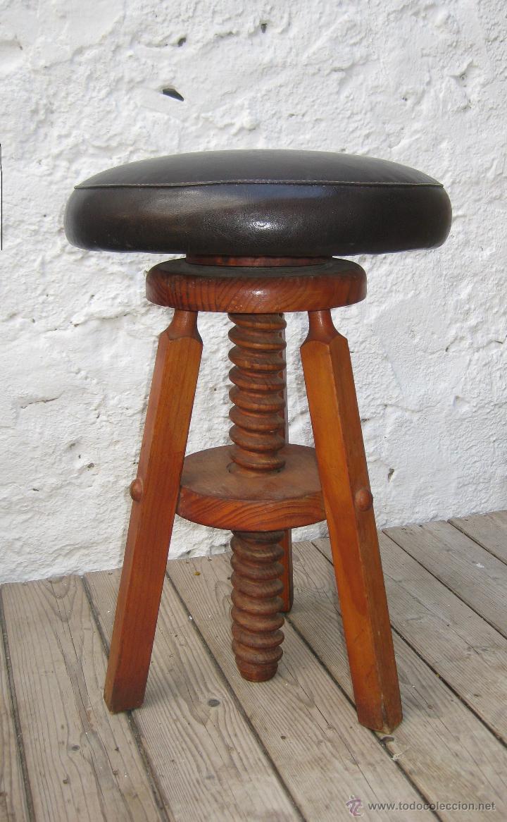 fabulosa silla taburete industrial tipo piano a - comprar muebles