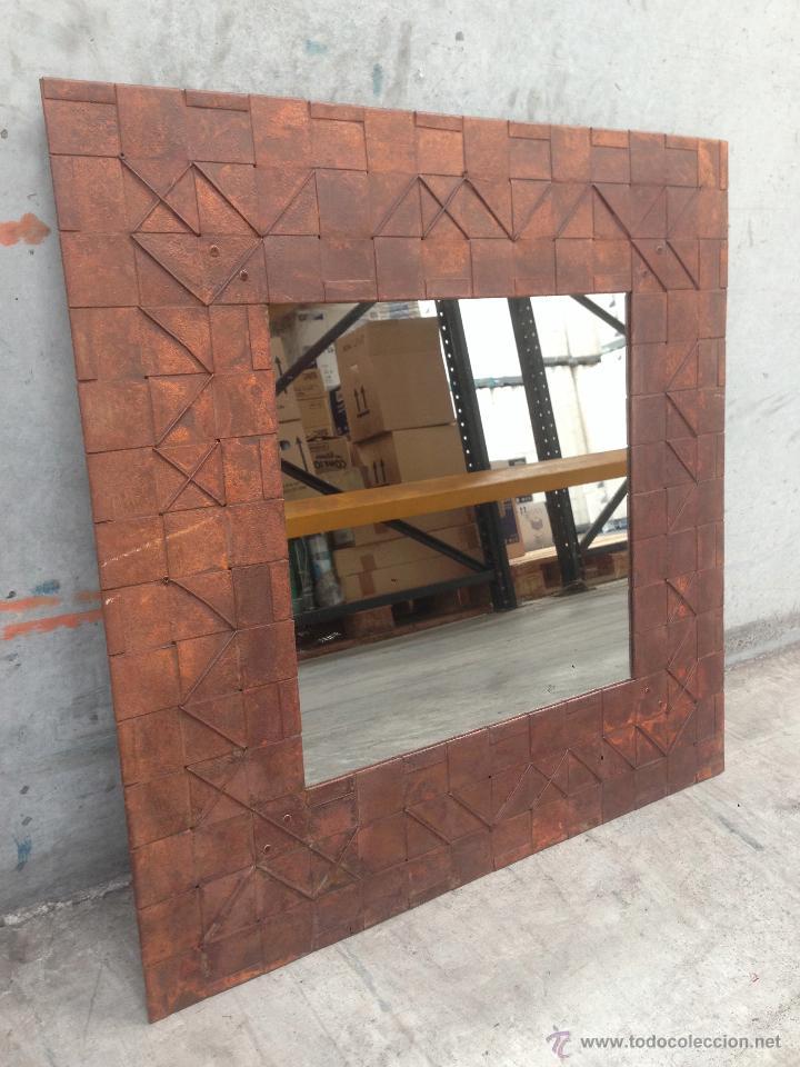 Loft design industrial espejo grande con mar comprar - Espejos grandes segunda mano ...