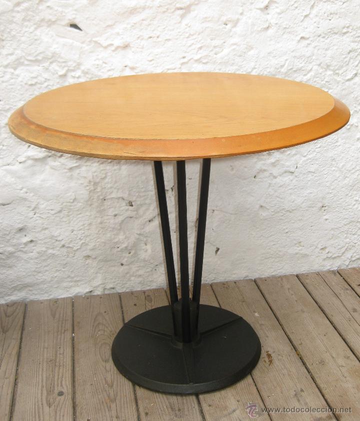Mesa industrial hierro y madera vintage blauet comprar - Muebles vintage en barcelona ...