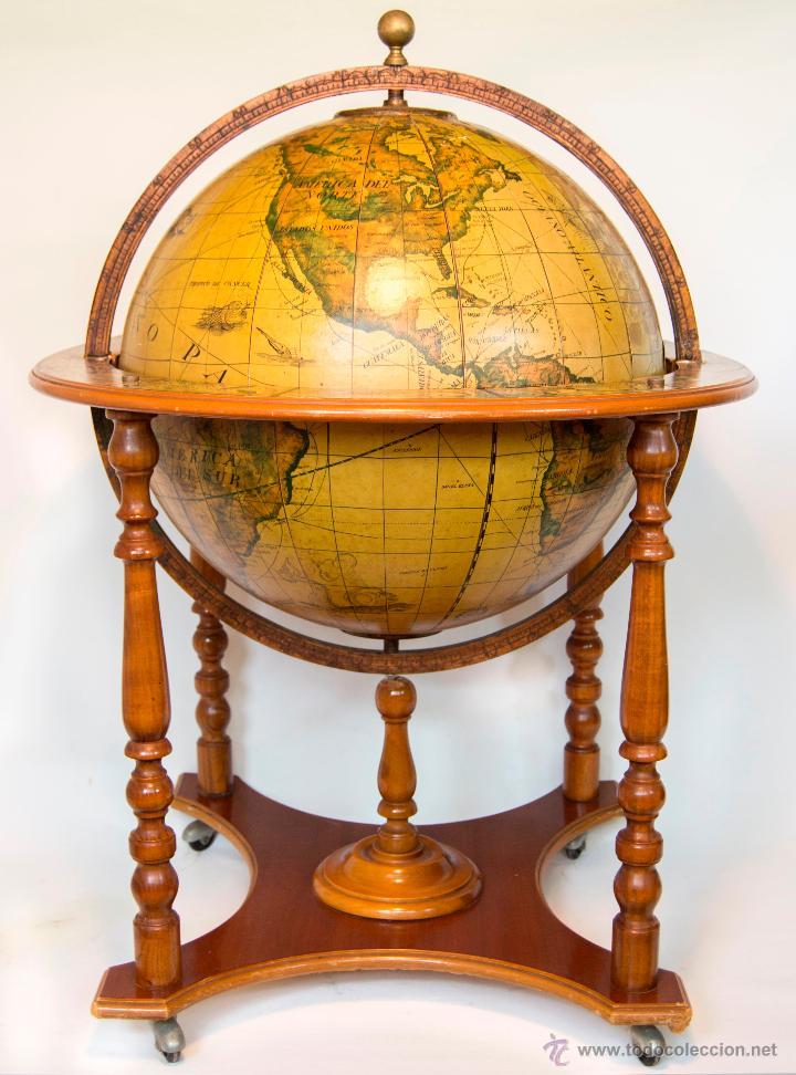 Mueble bar botellero bola del mundo a o 1971 comprar for Muebles del mundo