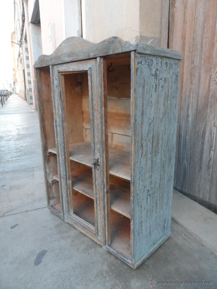Bonito mueble antiguo tipo industrial para rest comprar for Comprar mueble industrial