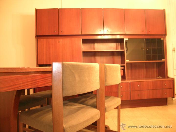 Mesa comedor extensible y 4 sillas tapizadas en comprar - Comoda mesa extensible ...