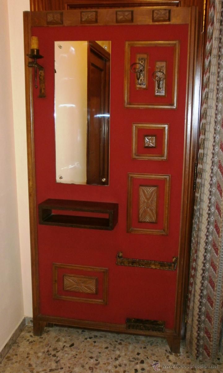 Vintage: Mueble retro recibidor o entrada ambiente rústico y/o montaña - Foto 2 - 52310969