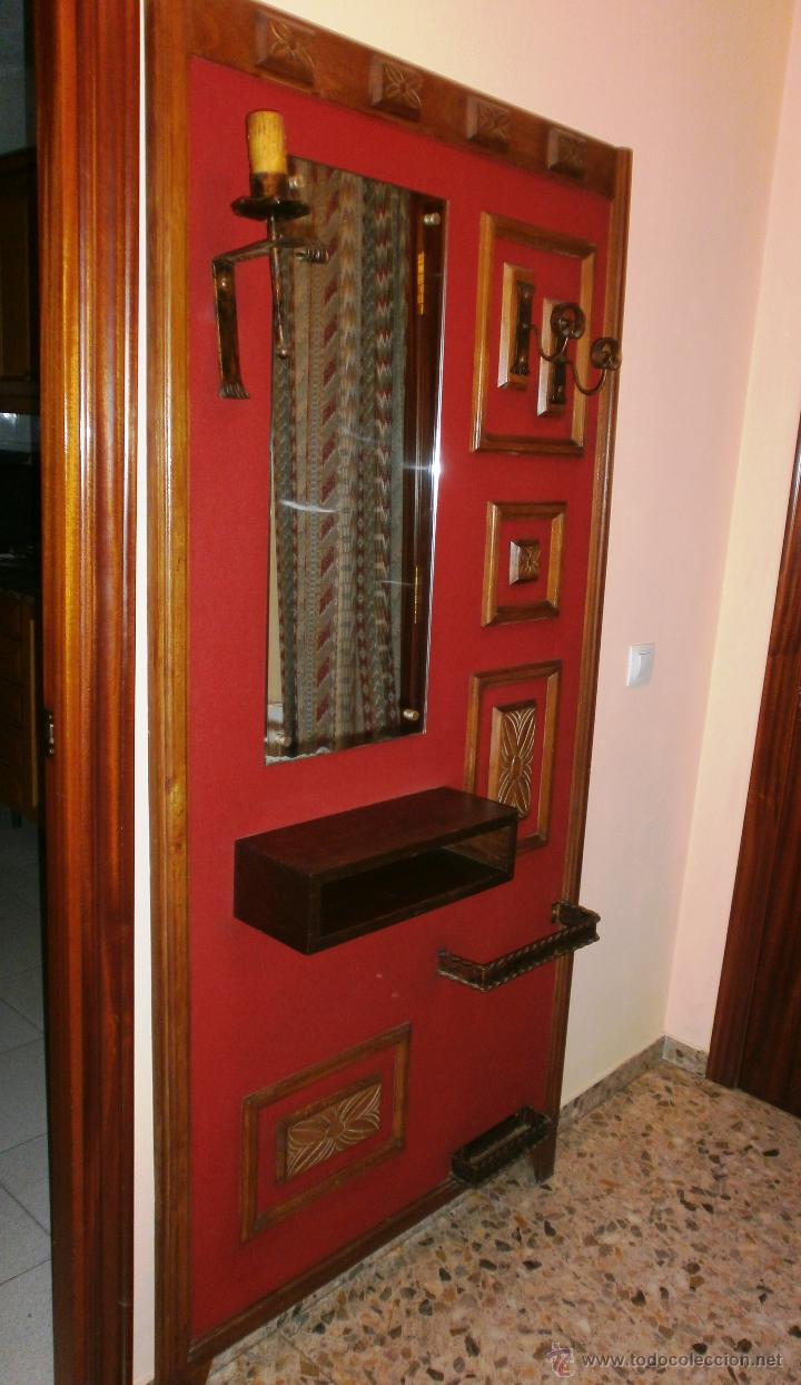 Vintage: Mueble retro recibidor o entrada ambiente rústico y/o montaña - Foto 3 - 52310969