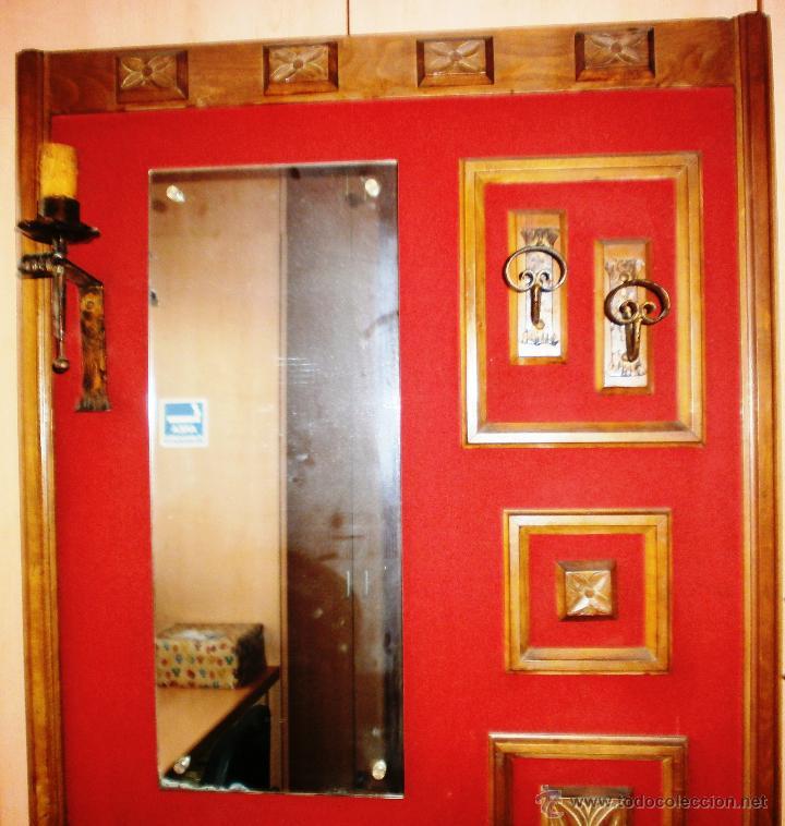 Vintage: Mueble retro recibidor o entrada ambiente rústico y/o montaña - Foto 4 - 52310969