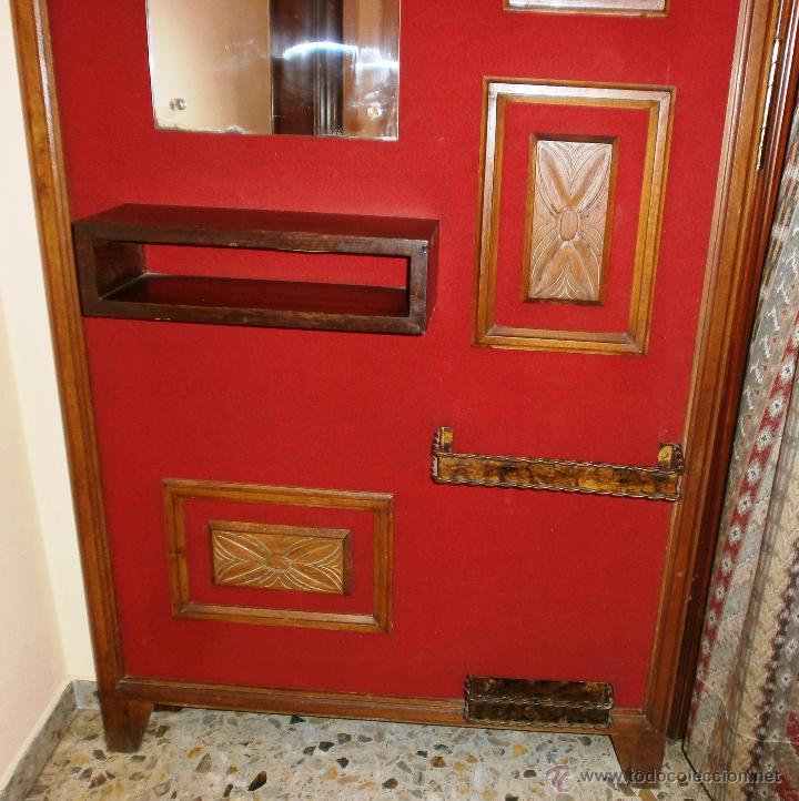 Vintage: Mueble retro recibidor o entrada ambiente rústico y/o montaña - Foto 5 - 52310969