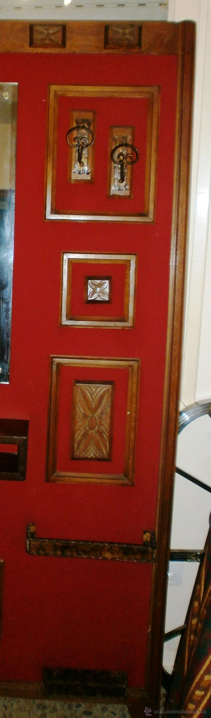 Vintage: Mueble retro recibidor o entrada ambiente rústico y/o montaña - Foto 7 - 52310969
