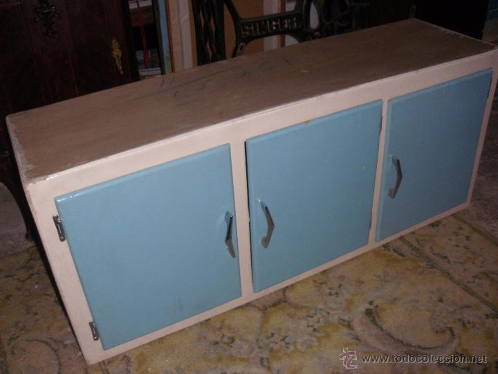Mueble alacena de cocina en madera de pino deco comprar for Mueble alacena