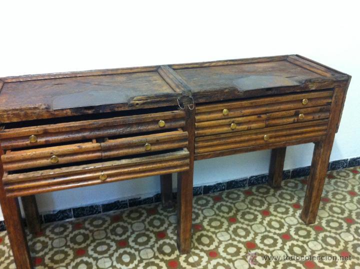 antiguo mueble industrial de oficios de joyero - Comprar Muebles ...
