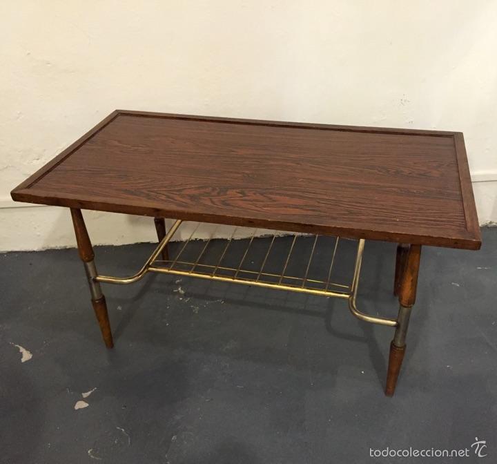 Mesa de centro anos 70 for Muebles online vintage