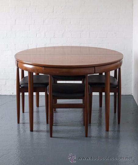Conjunto de comedor mesa extensible y cuatro s vendido for Conjunto mesa extensible y sillas comedor