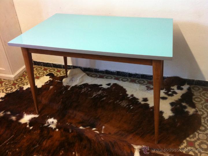 mesa comedor cuadrada retro vintage - Comprar Muebles vintage en ...