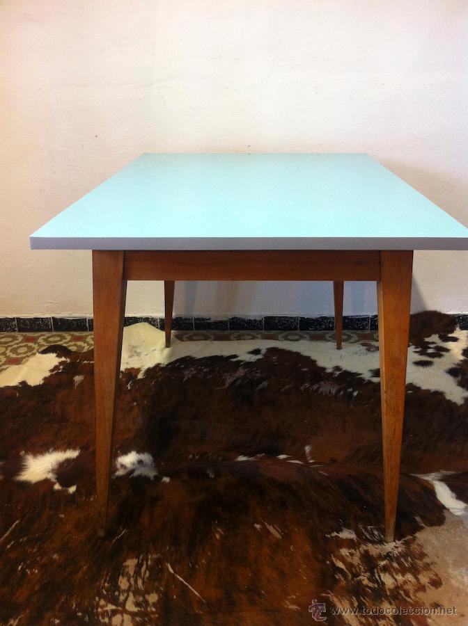 mesa comedor cuadrada retro vintage - Kaufen Vintage-Möbel in ...