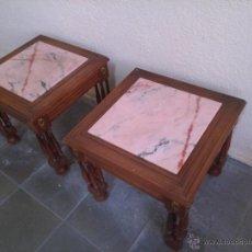 Vintage: PAREJA DE MESITAS AUXILIARES. Lote 53315967