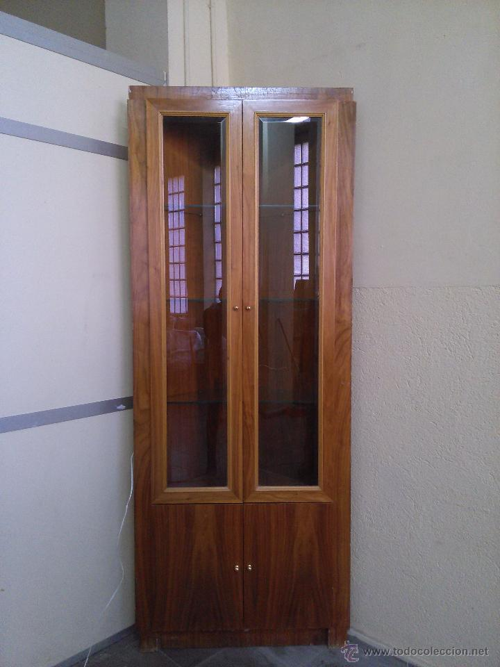 Vitrina mueble esquinero comprar muebles vintage en for Imagenes de muebles esquineros