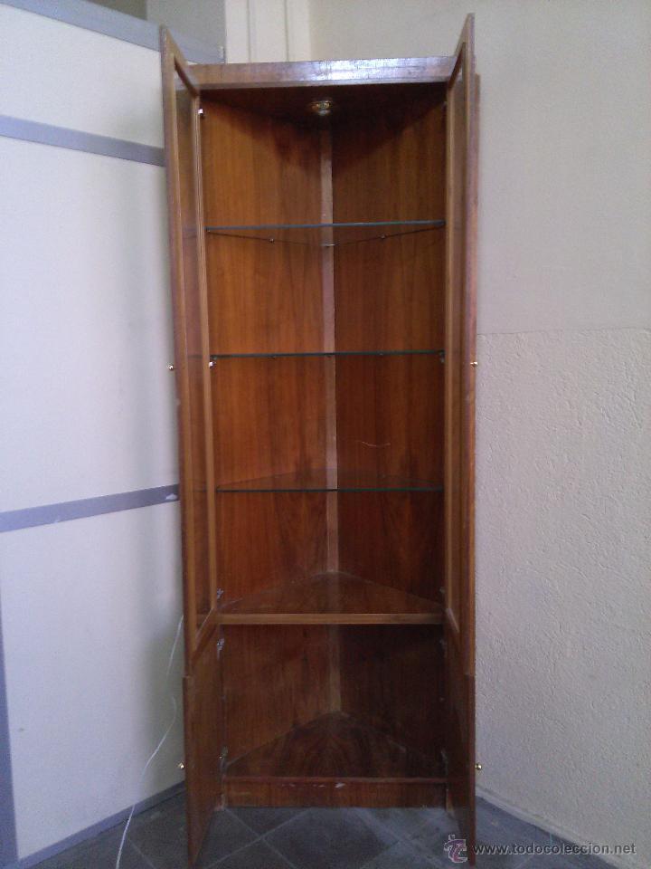 Vitrina mueble esquinero comprar muebles vintage en for Mueble zapatero esquinero