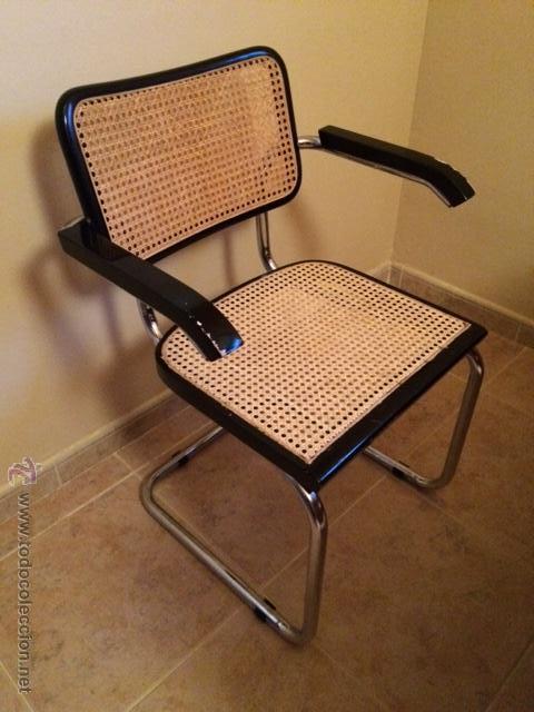 sillon cesca silla cesca de brazos vintage original aos