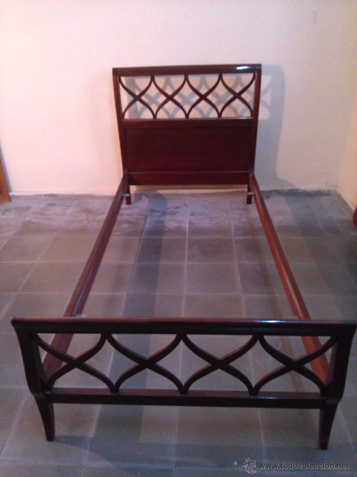 estructura de cama en madera - Comprar Muebles vintage en ...
