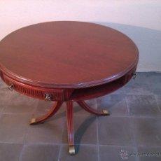 Vintage: MESA DE JUEGO CON CAJONES. Lote 97096040