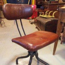 Vintage: BUTACA INDUSTRIAL. Lote 53818745