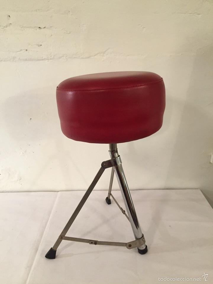 taburete rojo. plegable. años 70. - Comprar Muebles vintage en ...
