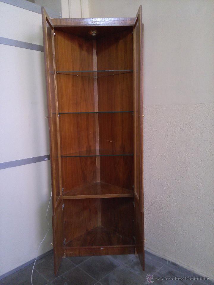 Vitrina mueble esquinero comprar muebles vintage en - Muebles online vintage ...