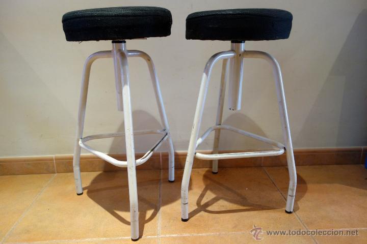 2x taburete de taller vintage años 70 imasoto e - comprar muebles
