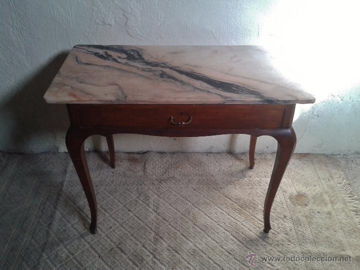 Escritorio antiguo vintage mesa auxiliar antig comprar - Mesas auxiliares antiguas ...