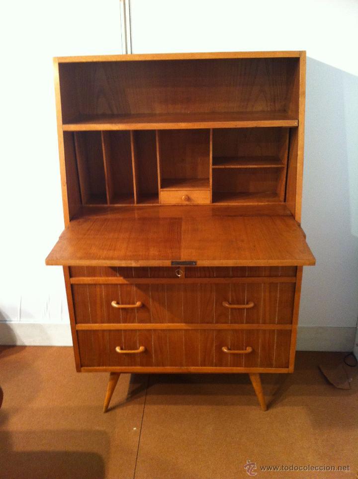 Comoda secretaire escritorio a os 60 vendido en venta directa 54082267 - Muebles anos 60 ...