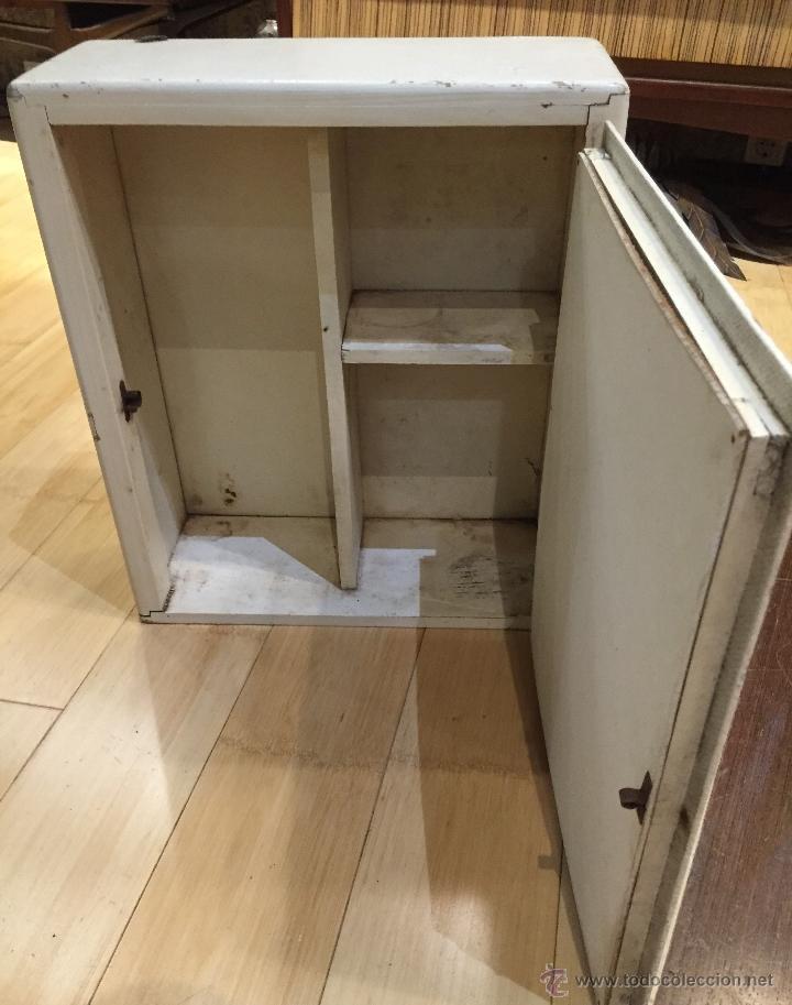 Vintage: Mueble de baño dos cristales - Foto 3 - 54099814
