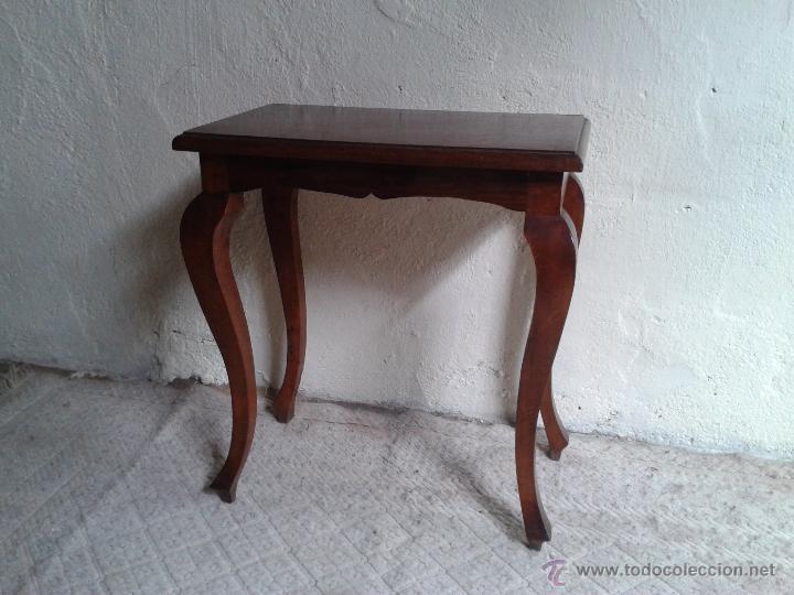 Mueble auxiliar antiguo retro vintage mesa auxi comprar - Mesas auxiliares antiguas ...