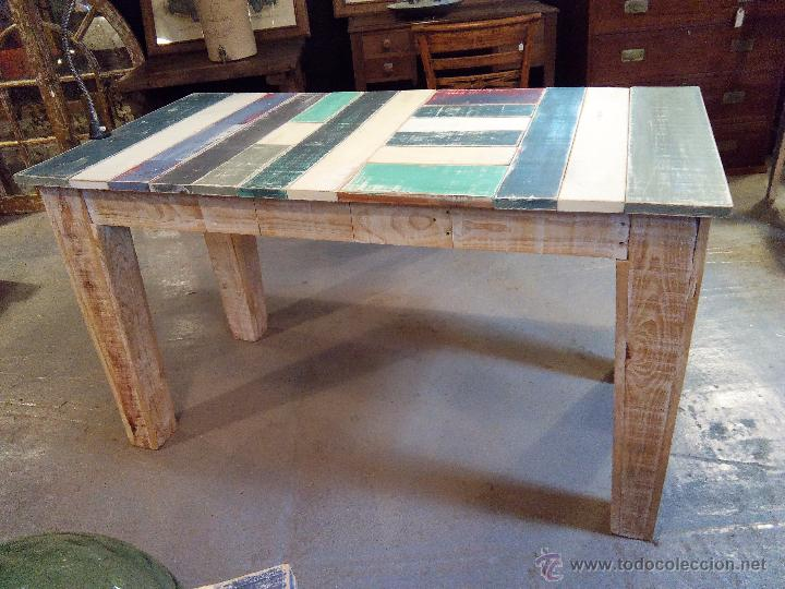 Mesa comedor vintage mesas de comedor de aire retro for Mesas de comedor vintage