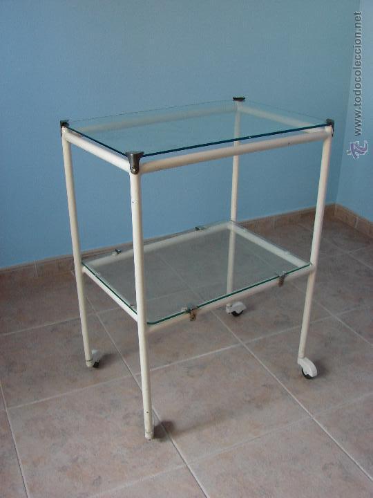 Extraordinario carro o mesa auxiliar industrial comprar for Mesa auxiliar industrial