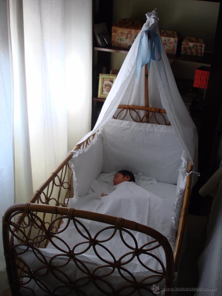 cuna caña de bambú - Comprar Muebles vintage en todocoleccion - 54753972