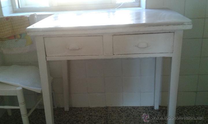Mesa de cocina con tapa de m rmol a os 50 comprar - Cocinas retro anos 50 ...