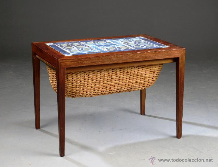 mesa de costura by severin hansen y royal copenhagen ca diseo vintage escandinavo