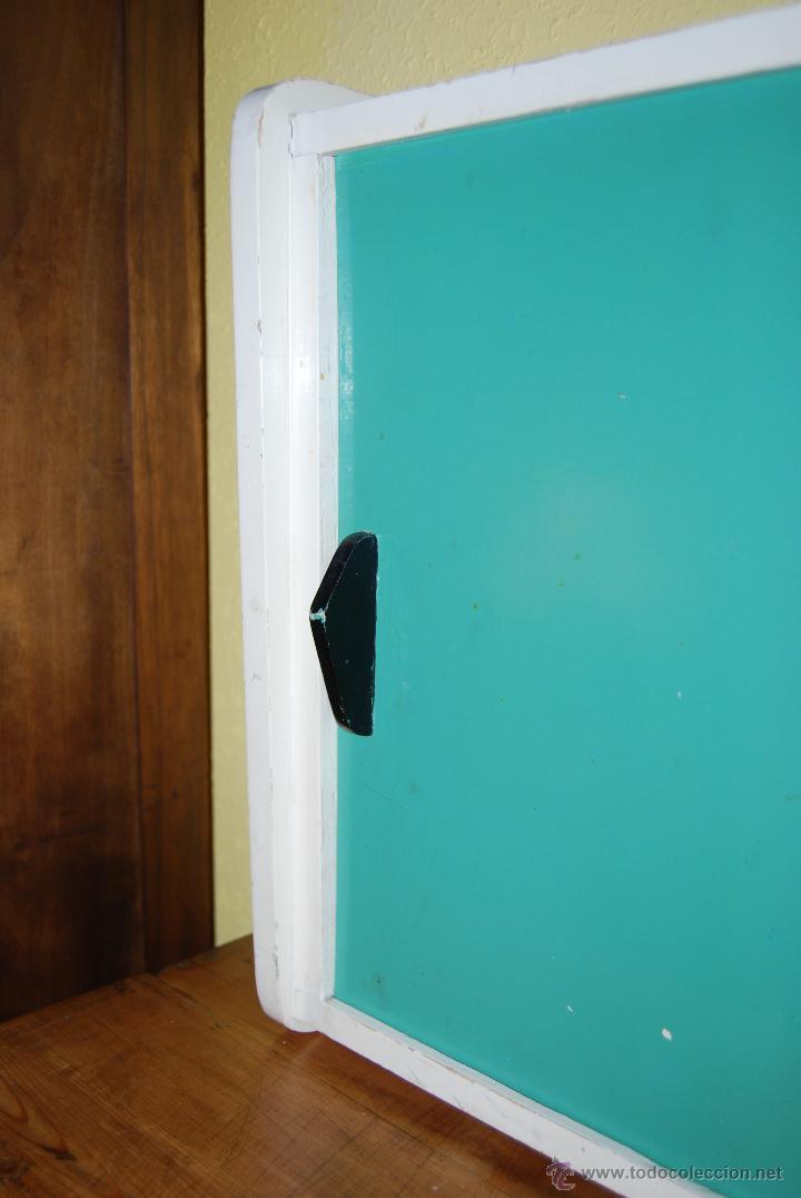 Armario Retro Pequeno ~ pequeño armario de madera con puertas corredera Comprar Muebles vintage en todocoleccion