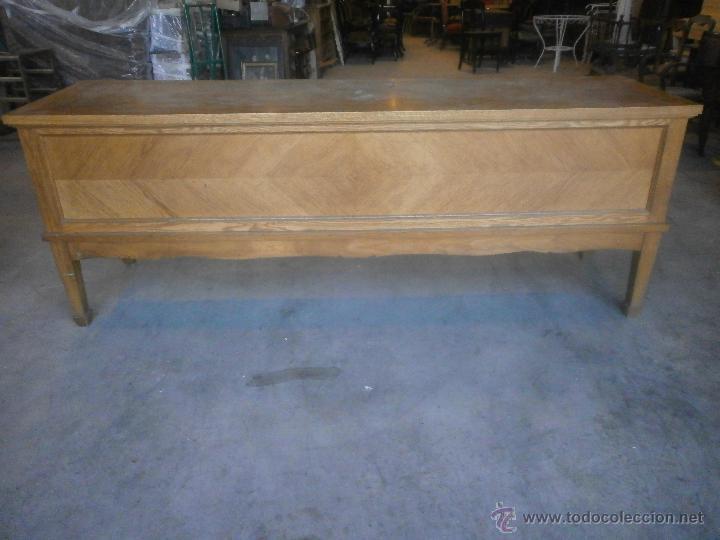 antiguo mostrador de tienda - madera de roble - - Comprar Muebles ...