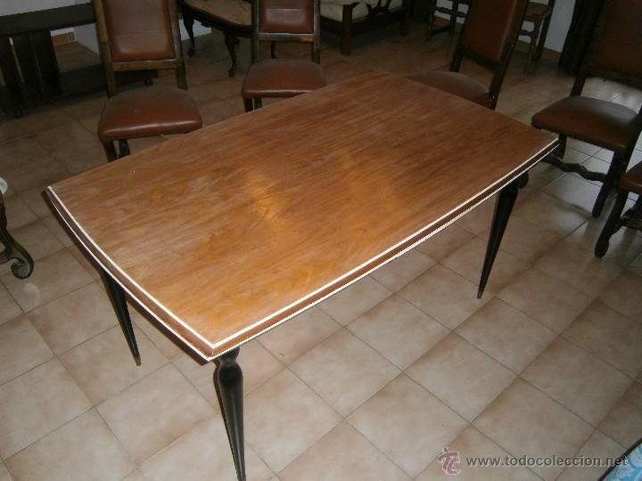 mesa comedor años 60 diseño español - Comprar Muebles vintage en ...