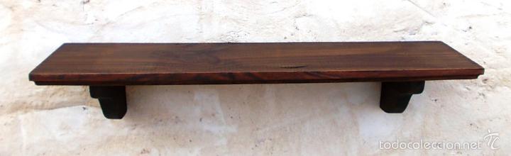 Balda de madera o repisa de 50 cm de ancha mue comprar muebles vintage en todocoleccion - Balda de madera ...