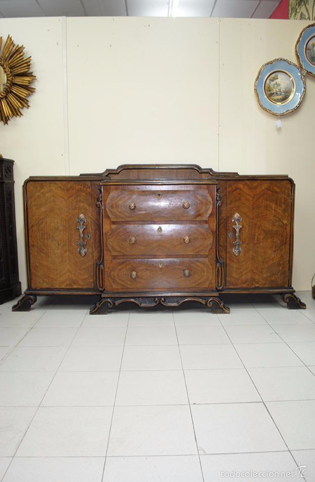 Mueble aparador estilo art dec comprar muebles vintage en todocoleccion 55399720 - Aparador art deco ...